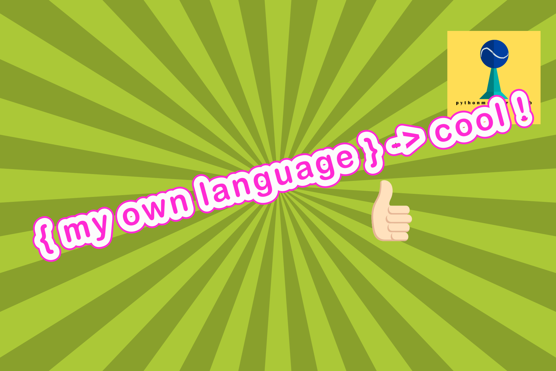 how to create your own DSL(Domain Specific Language) in python