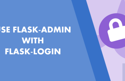 How to use Flask-admin with Flask-login