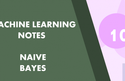 Machine Learning Part 10 Naive Bayes