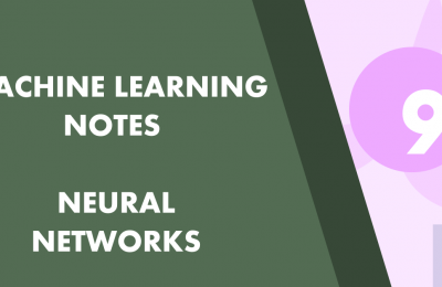 Machine Learning Part 9 Neural Networks